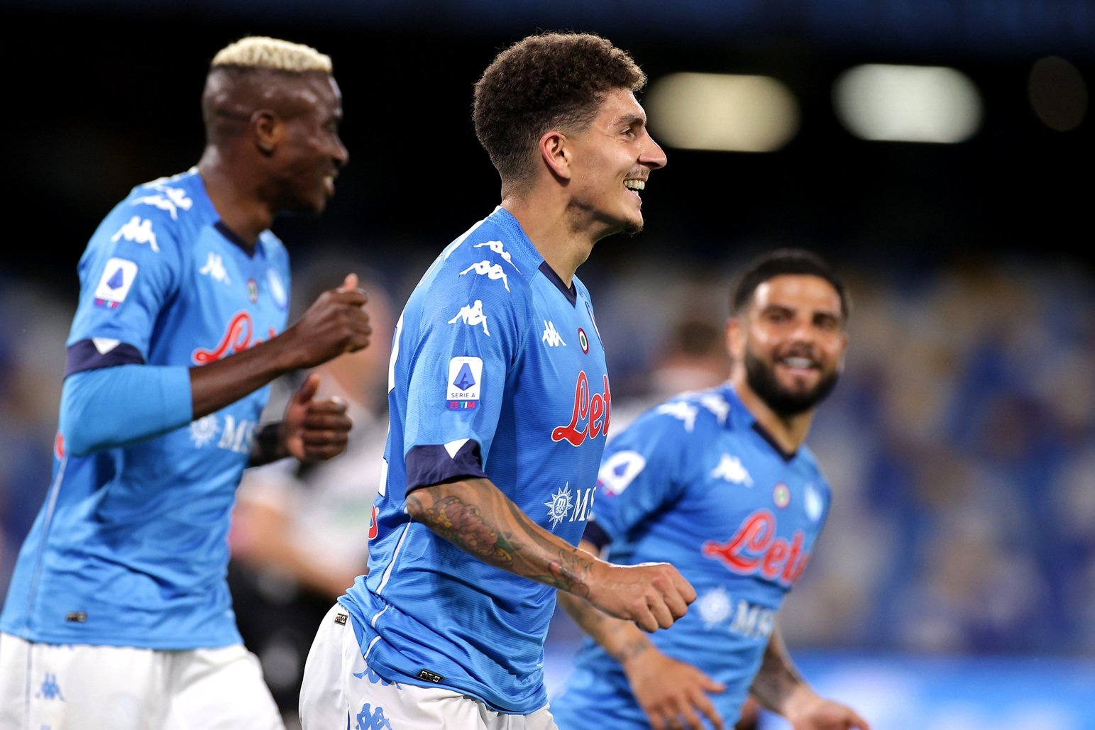 Di Lorenzo speedy Gonzalez: Corro tanto per rappresentare Napoli |  Sport e Vai