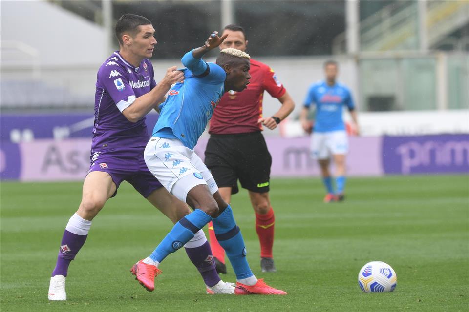 Fiorentina-Napoli come Juve-Inter? Polemica social |  Sport e Vai