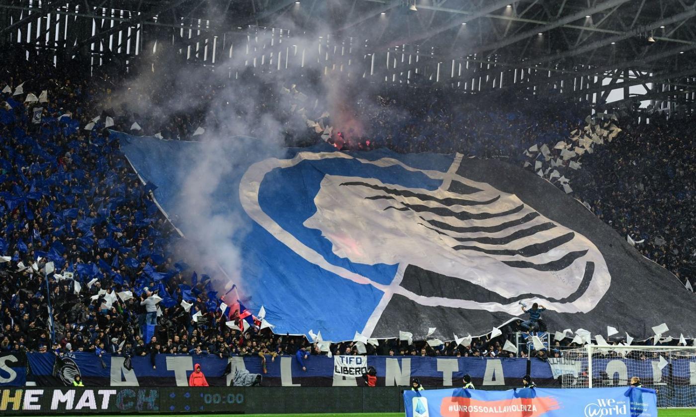 Tifo Atalanta strizza l'occhio al Milan: No a Juve in Champions    Sport e Vai