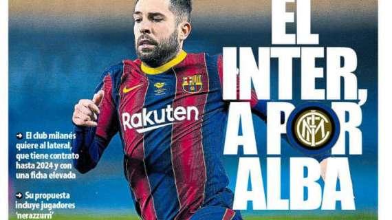Inter-Jordi Alba, per Di Marzio e Biasin non ci sono dubbi |  Sport e Vai