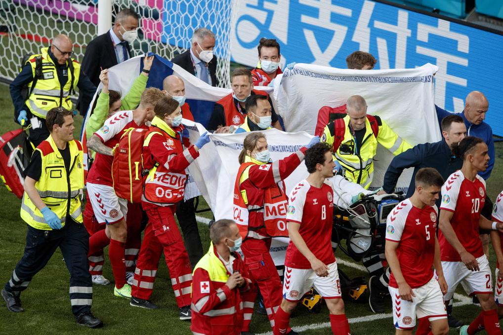 Eriksen, solidarietà da tutti i club ma c'è un grande assente |  Sport e Vai