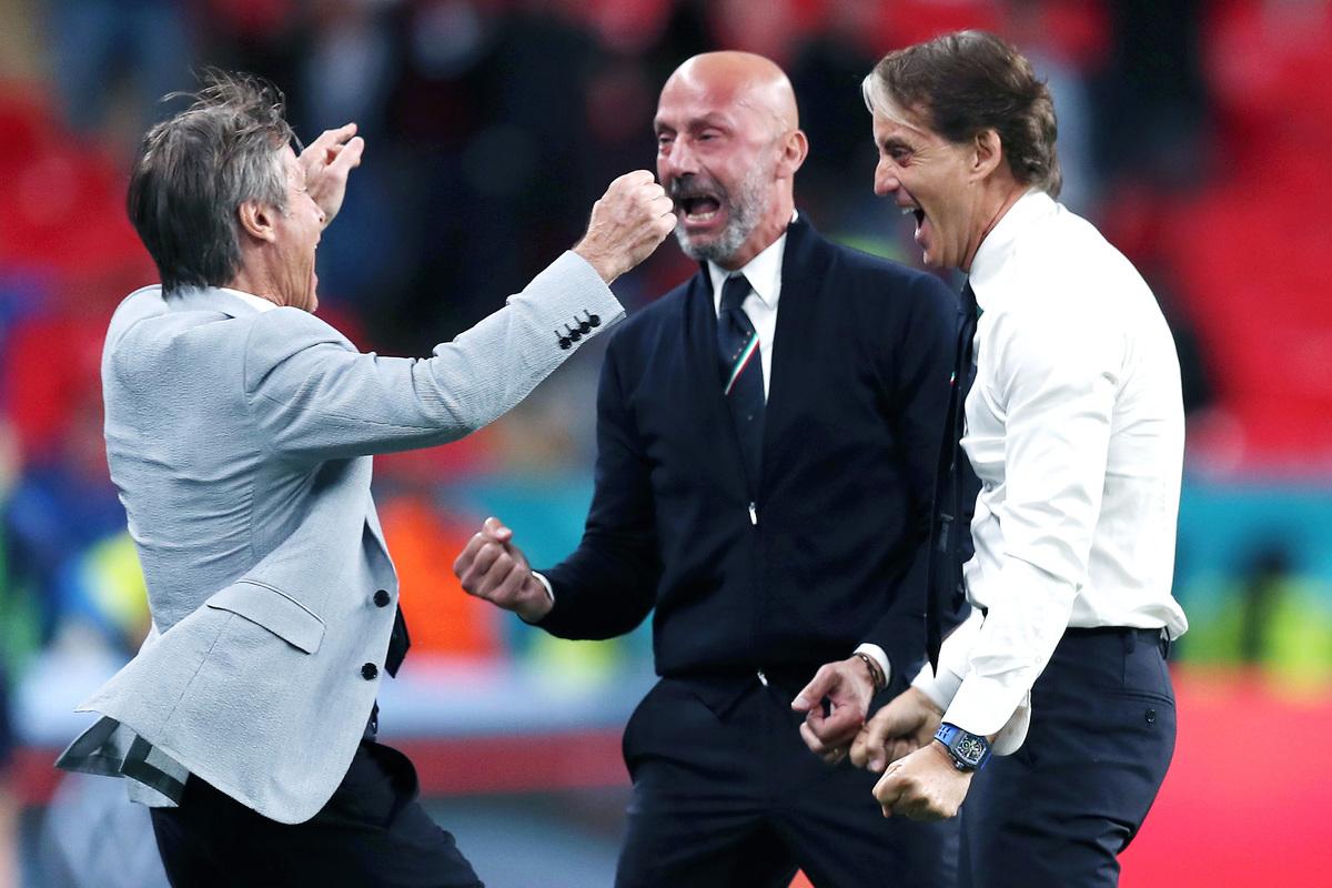 Mancini non vuole ancora festeggiare: Non è finita |  Sport e Vai