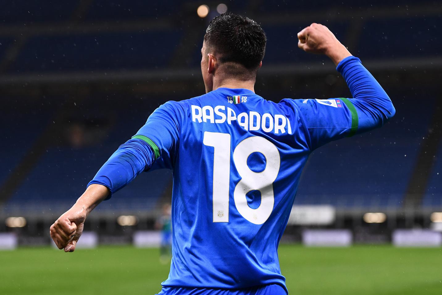 Raspadori dà appuntamento all'Inter |  Sport e Vai