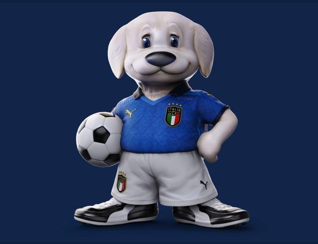 Mascotte Euro divide i tifosi: Non può esser peggio di Ciao '90 |  Sport e Vai