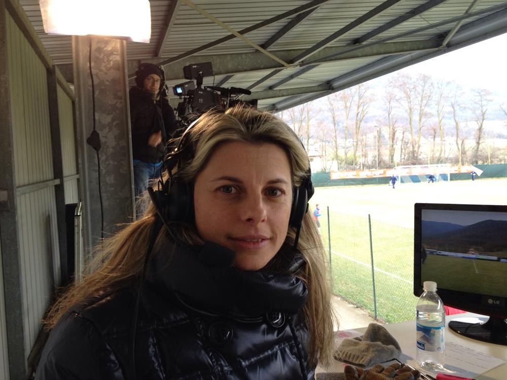Katia Serra: Non cambierei niente della mia telecronaca |  Sport e Vai