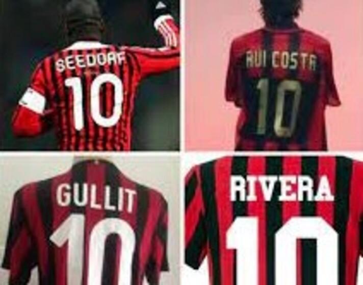 Milan e la maglia numero 10: una poltrona per tre  |  Sport e Vai