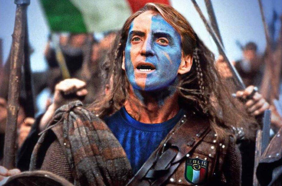Mancini: Spirito alla Braveheart? No, ecco come dovremo vincere |  Sport e Vai