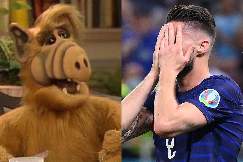 Milan, social scatenati su Giroud. Il motivo è tutto da ridere |  Sport e Vai
