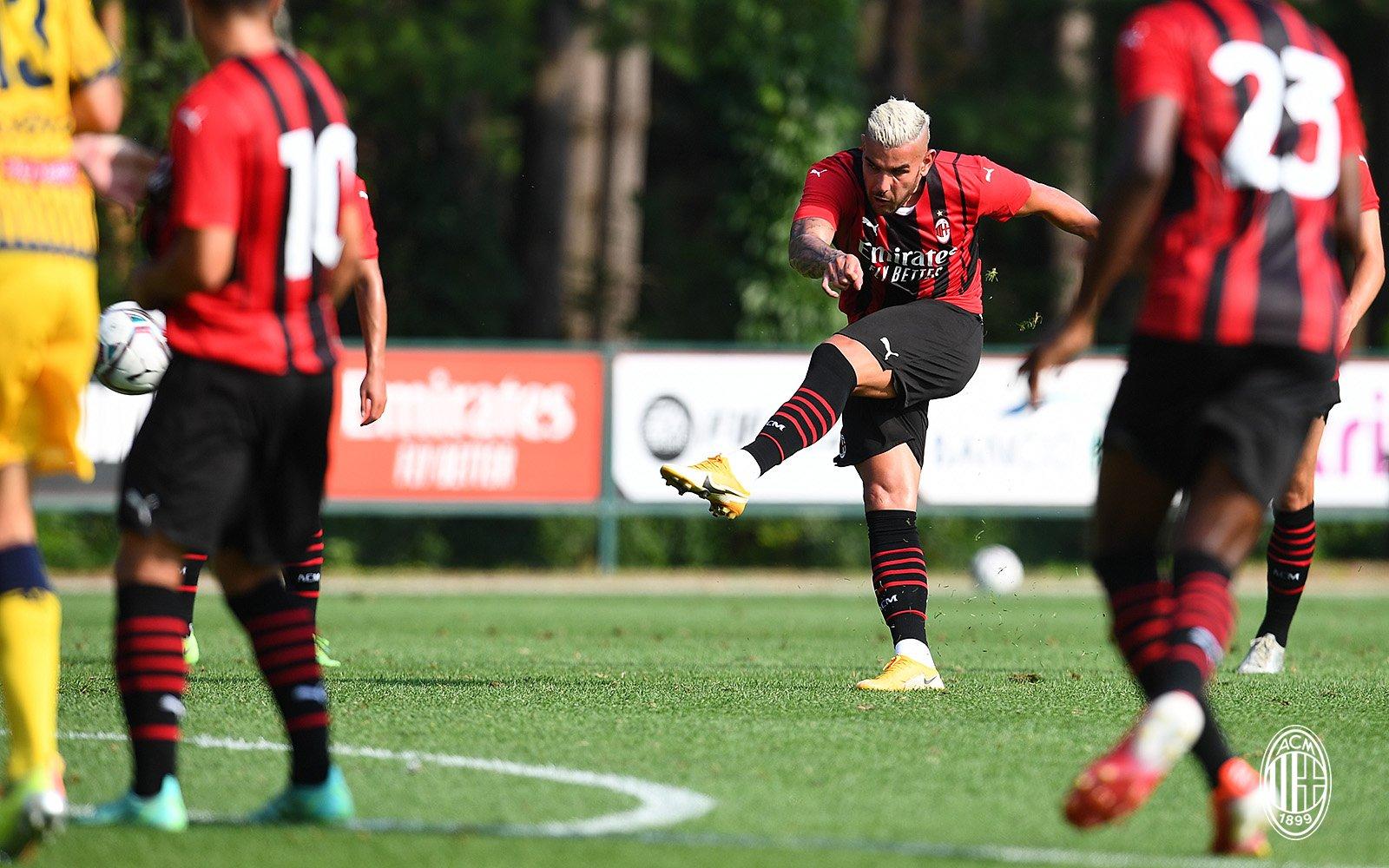 Al Milan basta un tempo, 5-0 al Modena: commento e tabellino |  Sport e Vai