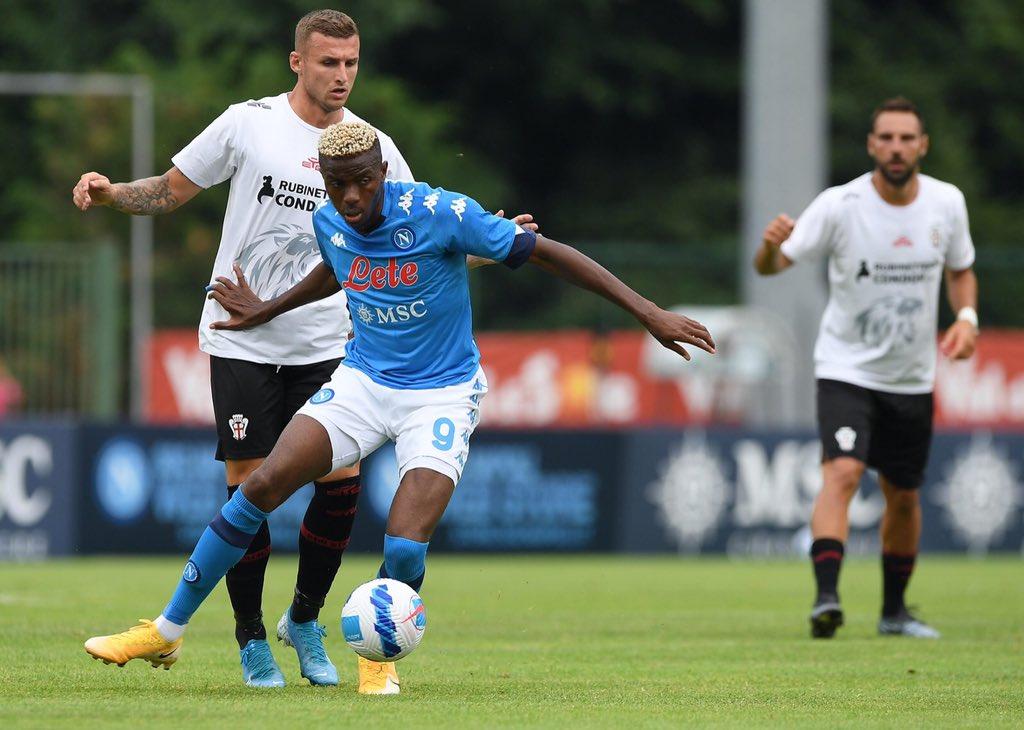 Napoli-Pro Vercelli, è solo 1-0: commento e tabellino |  Sport e Vai