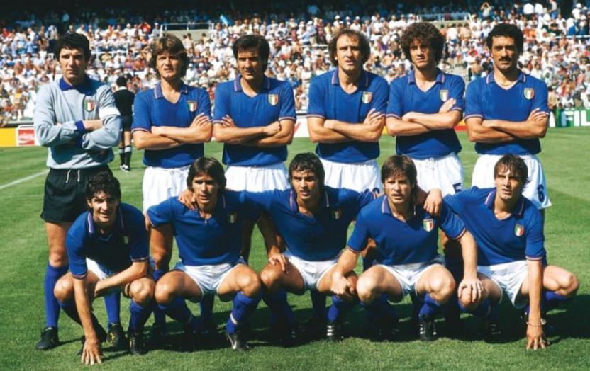 Commovente lettera degli azzurri dell'82 all'Italia di Mancini    Sport e Vai