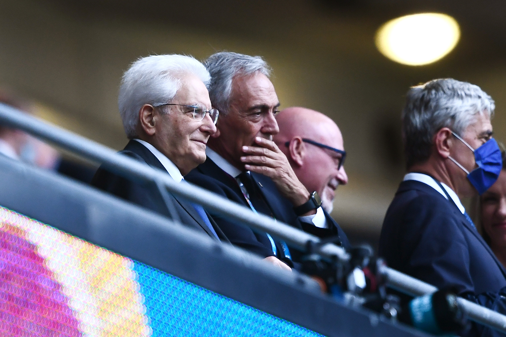 Per Ziliani Mattarella tifa Inter, Italia pazza del presidente |  Sport e Vai