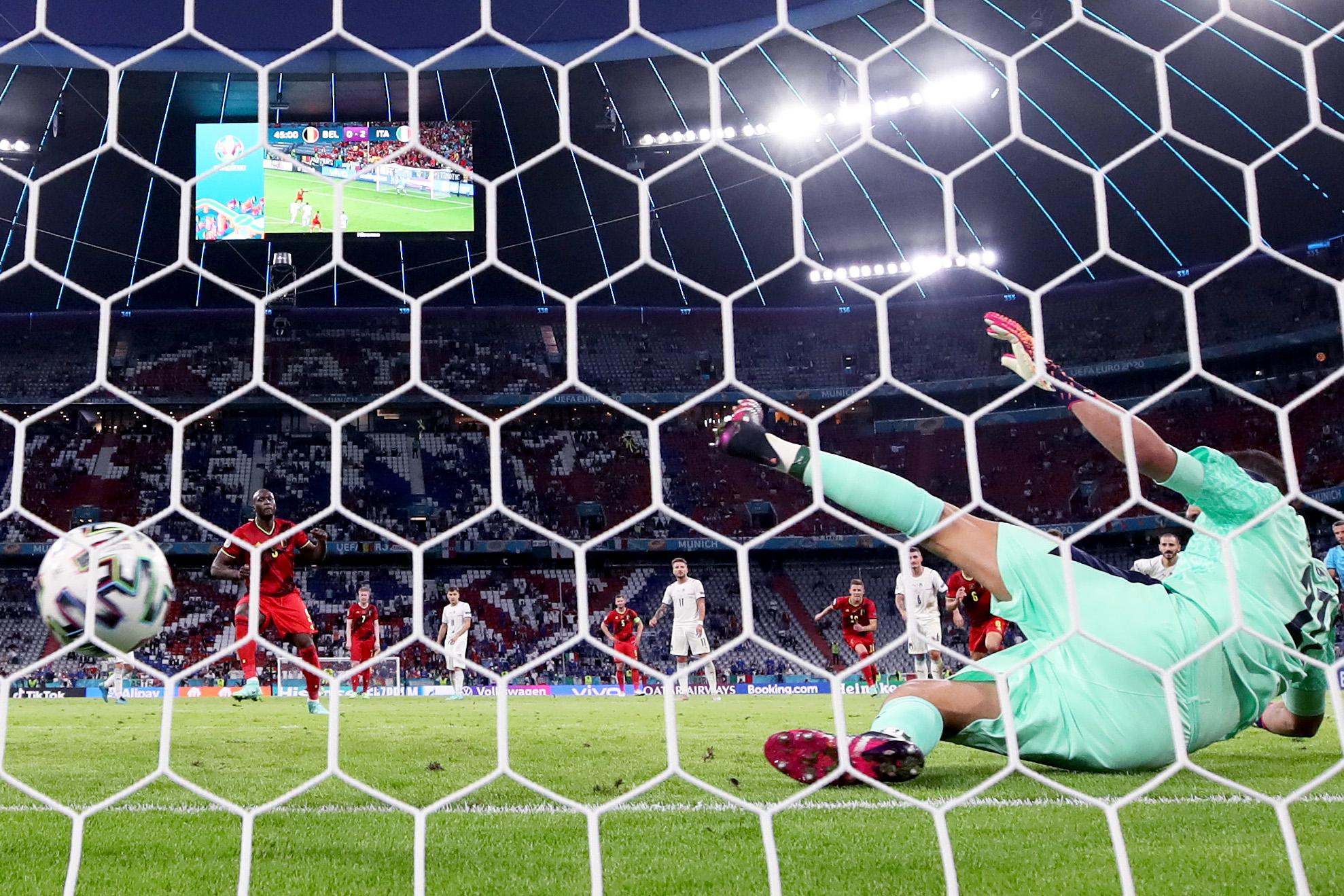 Cosa ha detto Lukaku a Donnarumma, il retroscena |  Sport e Vai