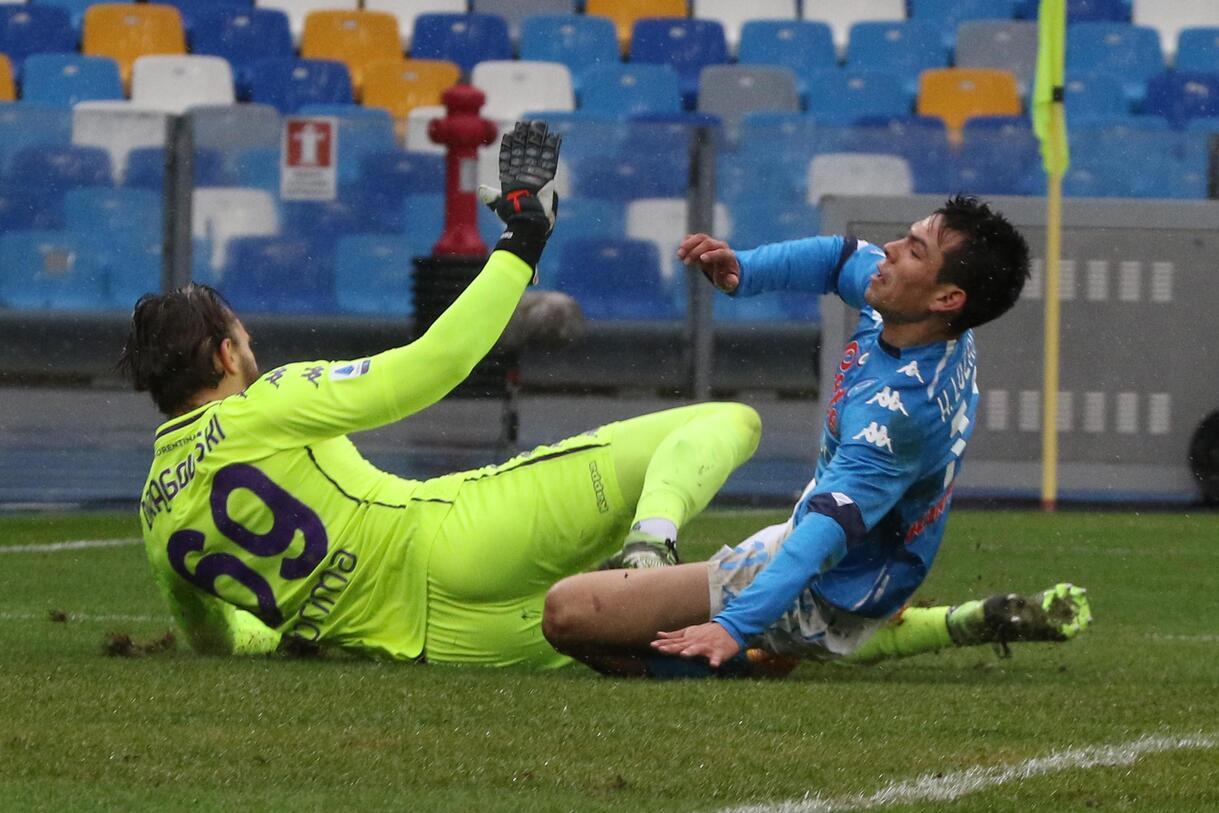 Lozano, che spavento all'aeroporto prima di partire per Napoli |  Sport e Vai