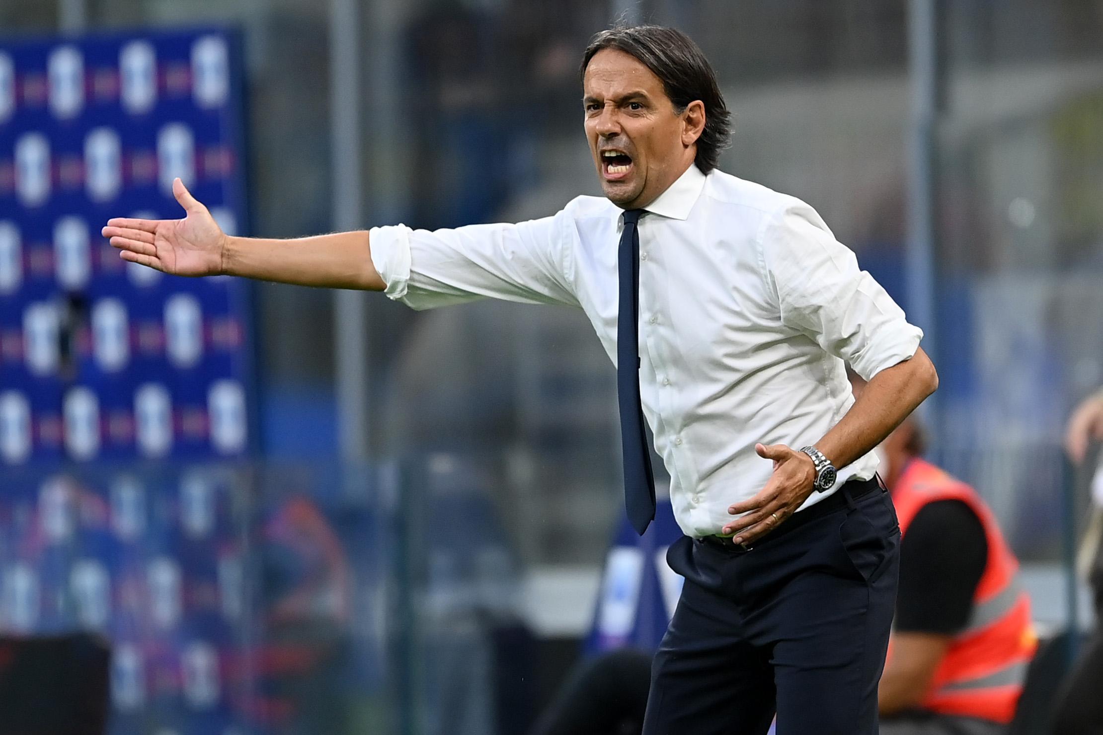 Inter, per Simone Inzaghi oggi doppia conferenza |  Sport e Vai