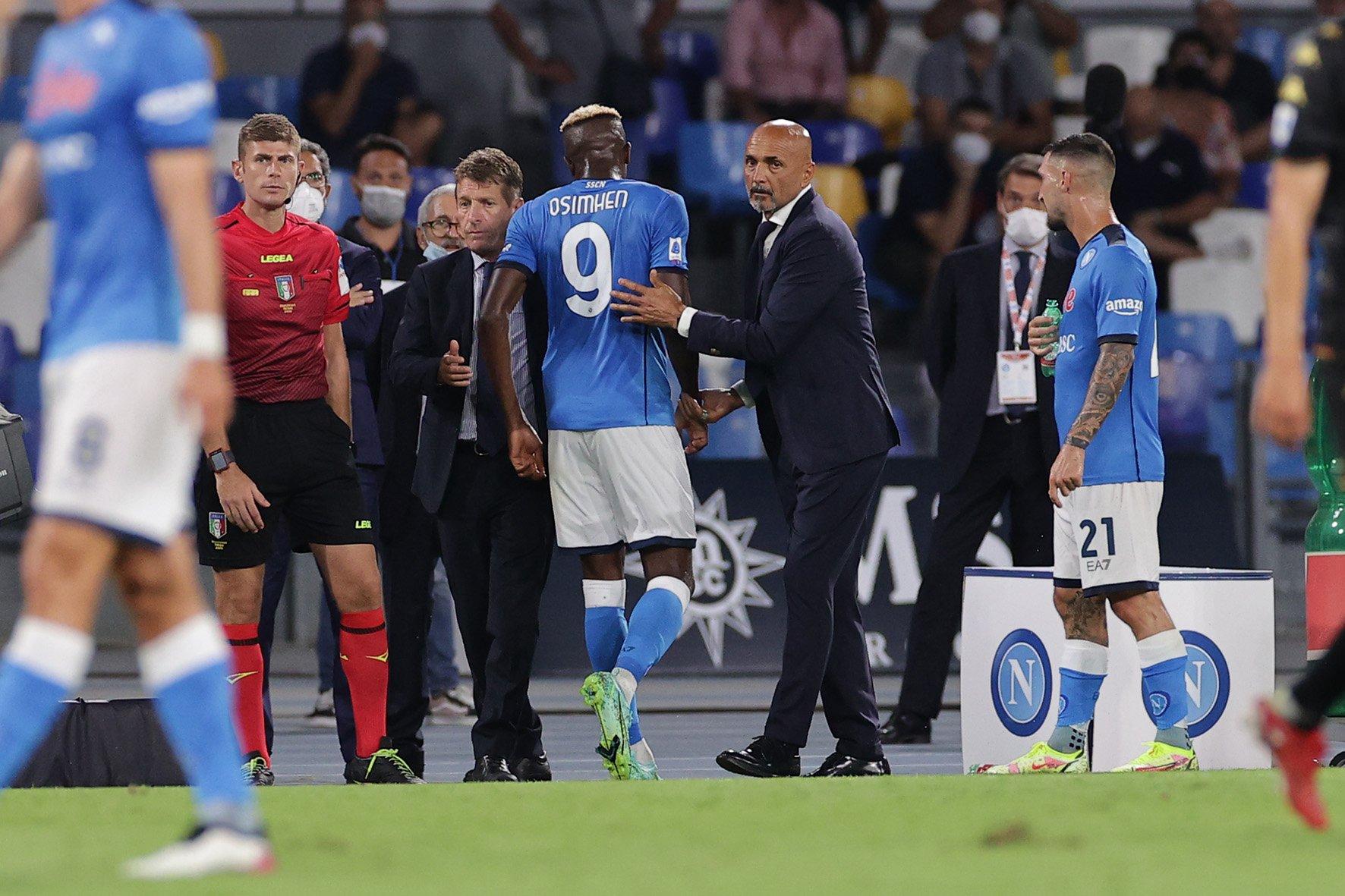 Napoli, Osimhen: le parole di Gravina fanno infuriare i tifosi |  Sport e Vai