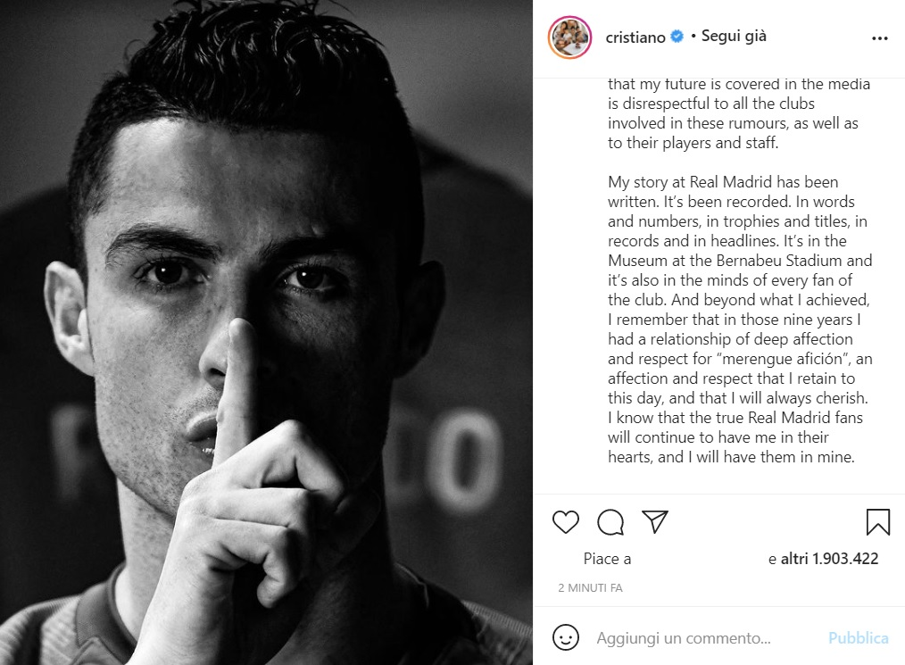 Juve-Ronaldo: gli ultimi aggiornamenti sull'incontro con Mendes |  Sport e Vai