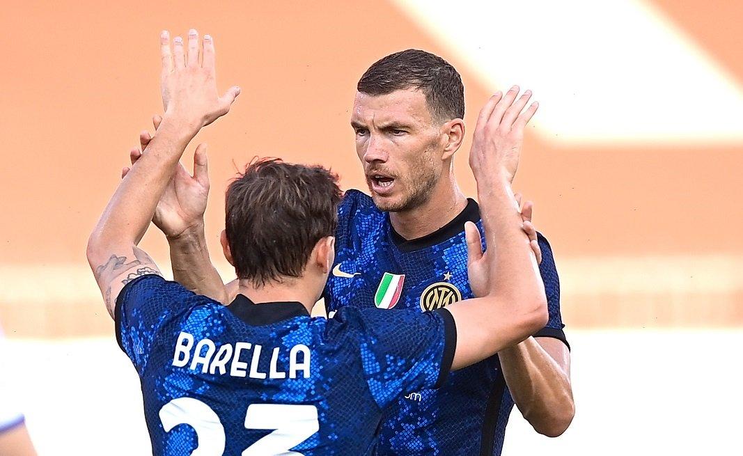 Inter, Dzeko timbra subito e conquista i tifosi |  Sport e Vai