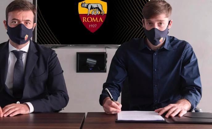 Roma, Vina prende la 5 di Falcao: le sue prime parole |  Sport e Vai