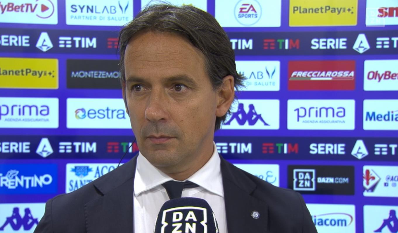Inzaghi: Mi diverto ad allenare l'Inter, da rivedere un paio di aspetti |  Sport e Vai