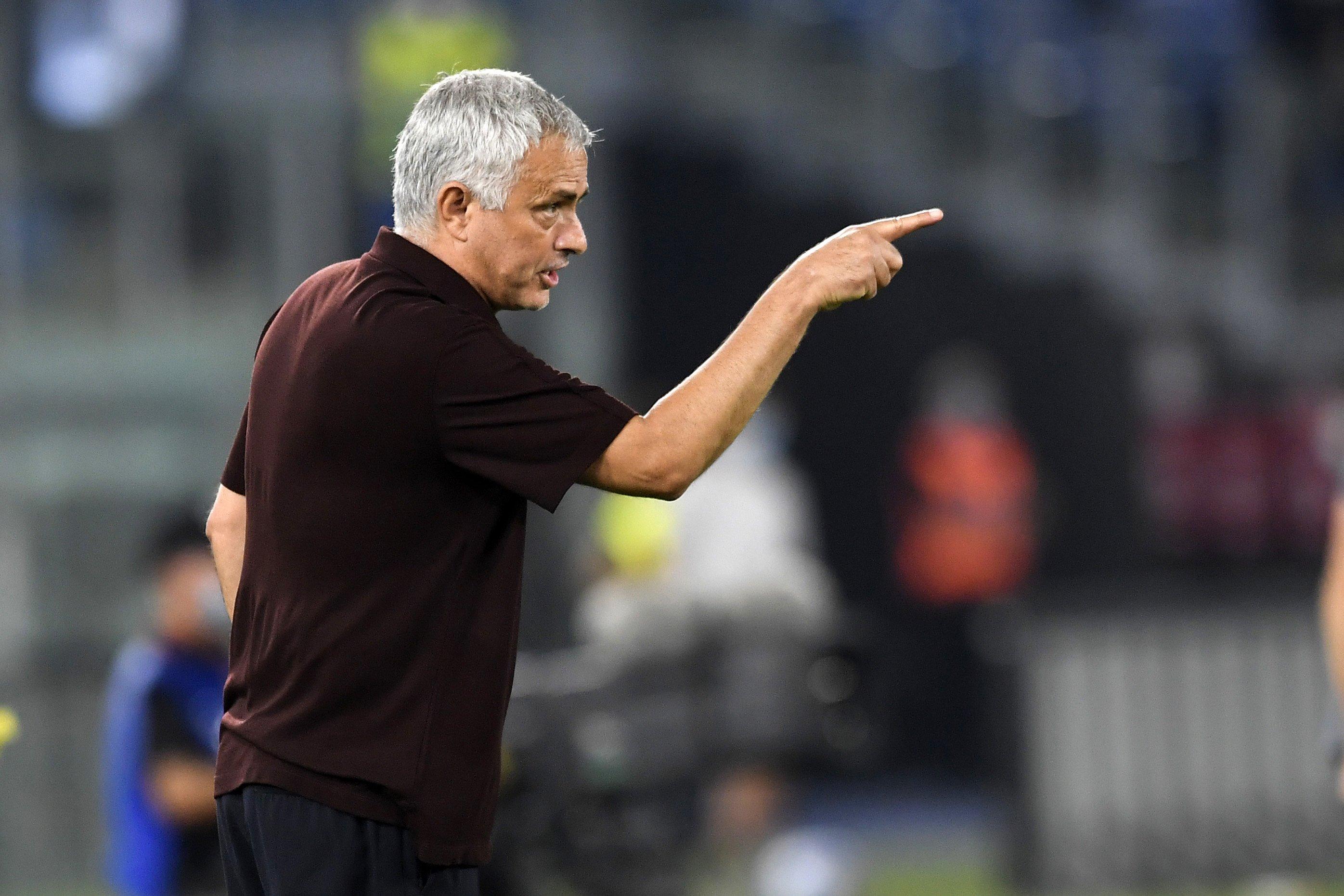 Roma, l'analisi di Mourinho dopo la sconfitta |  Sport e Vai