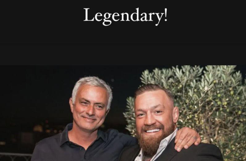 Mourinho consola McGregor, il messaggio sui social    Sport e Vai